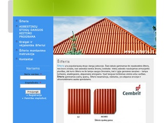 Siferis.lt – naujas stogo dangų centras.