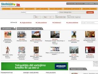 Skelbimai internete | www.skelbimai.in  ternete