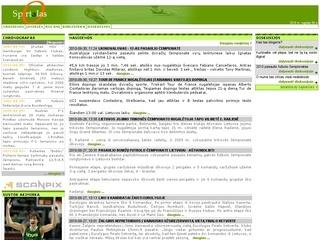 Sportalas – sporto naujienos iš viso pasaulio.