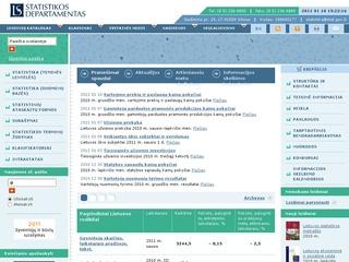 Statistikos departamentas prie LRV