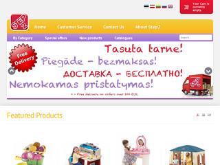Žaislai ir žaidimų inventorius Step2