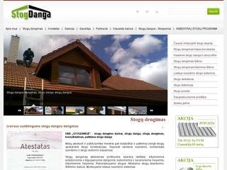 UAB Stogdanga – lankstinių gamyba, stogų dengimas, prekyba stogo dangomis: šiferis, čerpė, trapecinė