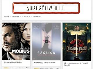 Naujausi bei geriausi kino filmai