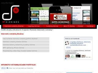 Web dizainas, logotipų ir firminio stiliaus kūrimas