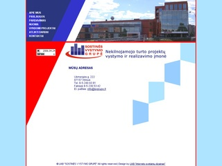 Sostinės vystymo grupė, UAB