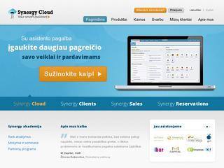 """Verslo valdymo sistemos """"Synergy Cloud"""""""