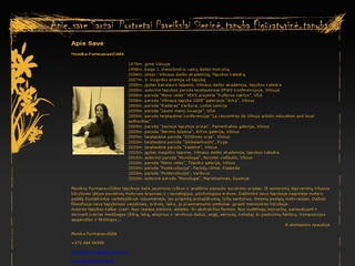 Dailininkės Monikos Furmanavičiūtės asmeninė svetainė
