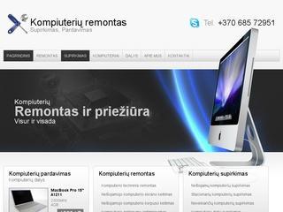 Kompiuteriu remontas, supirkimas, pardavimas