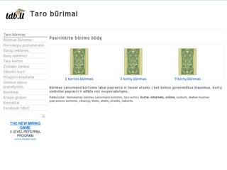 Taro būrimai