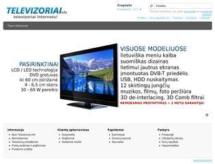 Tauro televizoriai internetu