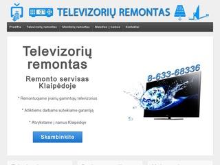 Monitorių ir televizorių remontas Klaipėda
