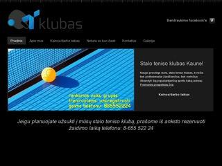 Stalo teniso klubas Kaune – tklubas