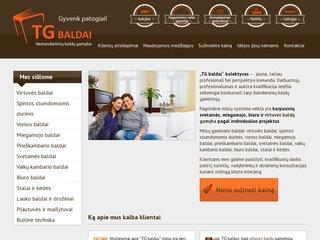 TG baldai – profesionali baldų gamyba Kaune, virtuvės baldai, svetainės, miegamojo, biuro baldai