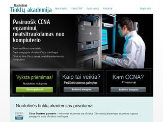 Nuotolinė Cisco tinklų akademija