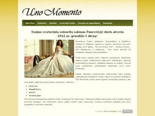 Vestuvinių suknelių salonas – Uno Momento