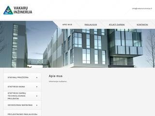 Inžinerinės paslaugos Klaipėdoje – Vakarų inžinerija, UAB