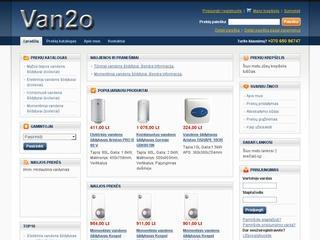 Vandentiekio ir šildymo įrangos pardavimas internetu