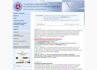Valstybės dokumentų technologinės apsaugos tarnyba prie FM