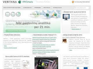 QlikView verslo analitikos programa