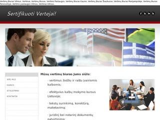 Vertimų Biuras VILNIUJE | KAUNE | KLAIPĖDOJE | ŠIAULIUOSE | PANEVĖŽYJE