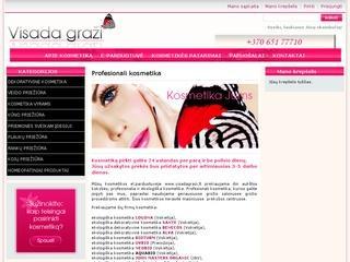 Kosmetika internetu Visadagrazi.lt