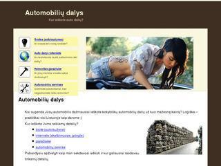 Automobilių dalys, katalogas