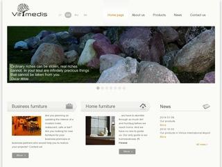 Vitmedis – medžio masyvo baldai