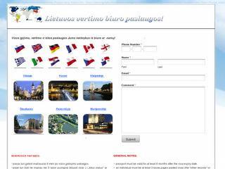 Bendrosios pastabos vizoms gauti