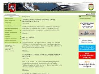 Valstybinė teritorijų planavimo ir statybos inspekcija prie AM