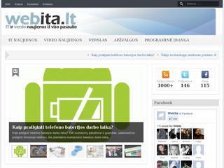 WEBita.lt IT naujienos, verslas, technologijos, apžvalgos