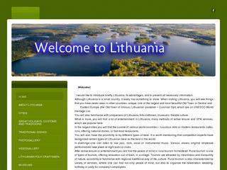 Sveiki atvykę į Lietuvą