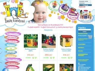 Žaislų karalystė – žaislai, žaislų nuoma, vaikų gimtadienio idėjos